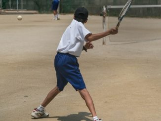 racchetta tennis bambini