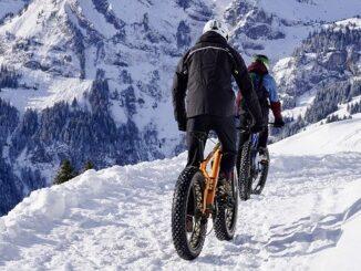 Sport all'aperto in inverno